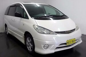 2003 Toyota Estima ACR30 Aeras White Automatic Wagon Cabramatta Fairfield Area Preview