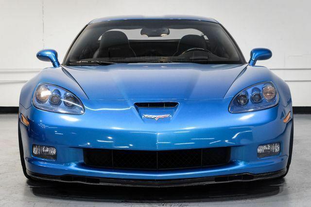 2008 Blue Chevrolet Corvette Z06  | C6 Corvette Photo 3