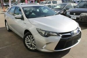 2016 Toyota Camry AVV50R Atara SL Silver 1 Speed Constant Variable Sedan Hybrid Hoppers Crossing Wyndham Area Preview