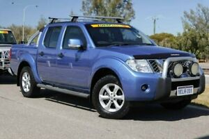 2013 Nissan Navara D40 S6 MY12 ST Altitude Blue 5 Speed Sports Automatic Utility Clarkson Wanneroo Area Preview