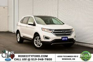 2016 Ford Edge SEL / Accident Free / Backup Cam / Nav / Leather