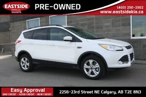 2014 Ford Escape SE AWD HEATED LEATHER SEATS LARGE LCD CAMERA BL