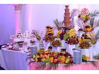 Candy-Bar and Chocolate Fountain For Hire