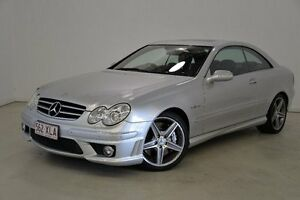 2007 Mercedes-Benz CLK63 C209 MY08 AMG Silver 7 Speed Sports Automatic Coupe