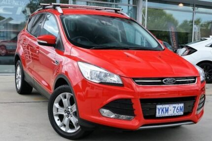2014 Ford Kuga TF MY15 Trend AWD Red 6 Speed Sports Automatic Wagon