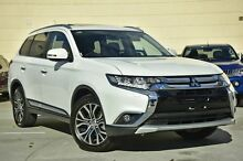 2015 Mitsubishi Outlander ZK MY16 Exceed (4x4) White Continuous Variable Wagon Mount Gravatt Brisbane South East Preview
