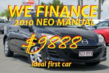 2010 Mazda 3 BL10F1 Neo Black/Grey 6 Speed Manual Sedan Macgregor Brisbane South West Preview