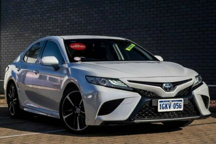 2018 Toyota Camry GSV70R SX White 8 Speed Sports Automatic Sedan Morley Bayswater Area Preview