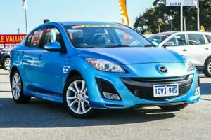 2011 Mazda 3 BL10L1 MY10 SP25 Activematic Blue 5 Speed Sports Automatic Sedan Cannington Canning Area Preview
