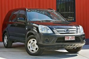 2006 Honda CR-V RD MY2006 4WD Black 5 Speed Automatic Wagon Molendinar Gold Coast City Preview