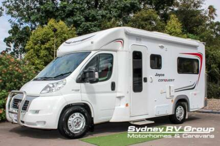 U3421 Jayco Conquest Super LOW KM's With Loads Of Desirables