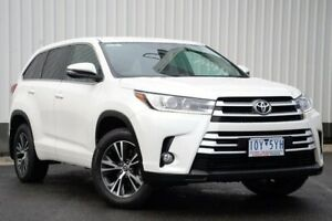 2017 Toyota Kluger GSU55R GX AWD White 8 Speed Sports Automatic Wagon Oakleigh Monash Area Preview