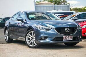 2012 Mazda 6 GJ Atenza Blue Sports Automatic Kedron Brisbane North East Preview