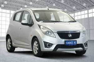 2010 Holden Barina Spark MJ MY11 CD Silver 5 Speed Manual Hatchback Victoria Park Victoria Park Area Preview