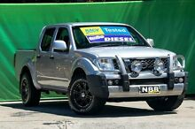 2012 Nissan Navara D40 MY12 RX (4x4) Silver 5 Speed Automatic Dual Cab Pick-up Ringwood East Maroondah Area Preview