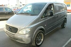 2007 Mercedes-Benz Vito 639 MY07 115CDI Low Roof Comp Grey 5 Speed Automatic Van Bungalow Cairns City Preview