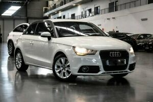 2011 Audi A1 8X Ambition White Manual Westmeadows Hume Area Preview