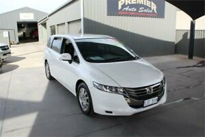 2012 Honda Odyssey RB MY12 White 5 Speed Automatic Wagon Mitchell Gungahlin Area Preview