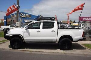 2009 Toyota Hilux KUN26R MY09 SR White 5 Speed Manual Utility