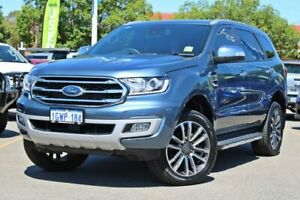 2019 Ford Everest UA II 2019.75MY Titanium Blue 10 Speed Sports Automatic SUV Midland Swan Area Preview