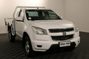 2016 Holden Colorado RG MY16 LS White 6 Speed Manual Cab Chassis Acacia Ridge Brisbane South West Preview
