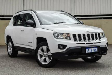 2013 Jeep Compass MK MY14 Sport (4x2) White 6 Speed Automatic Wagon Cannington Canning Area Preview
