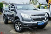 2013 Holden Colorado RG MY13 LX Space Cab Grey 6 Speed Sports Automatic Cab Chassis Archerfield Brisbane South West Preview