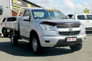 2014 Holden Colorado RG MY14 LX Silver 6 Speed Manual Cab Chassis Cleveland Redland Area Preview