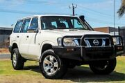 2009 Nissan Patrol GU 6 MY08 DX White 4 Speed Automatic Wagon Wangara Wanneroo Area Preview