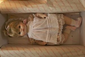 "Vintage porcelain collectible ""Jessica"" doll"