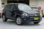 2014 Volkswagen Tiguan 5N MY15 132TSI DSG 4MOTION Night Blue 7 Speed Sports Automatic Dual Clutch Robina Gold Coast South Preview