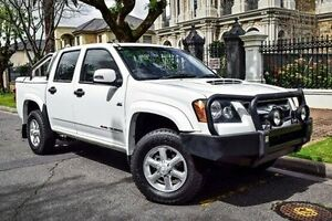 2011 Holden Colorado RC MY11 LX-R Crew Cab White 5 Speed Manual Utility Medindie Walkerville Area Preview