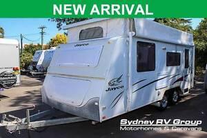 CU916 Jayco Sterling Pop Top Caravan, POPULAR ENSUITE MODEL Penrith Penrith Area Preview