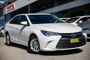 2016 Toyota Camry ASV50R Altise White 6 Speed Sports Automatic Sedan Castle Hill The Hills District Preview