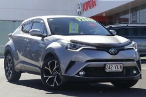 2017 Toyota C-HR NGX10R Koba S-CVT 2WD Silver 7 Speed Constant Variable Wagon Woolloongabba Brisbane South West Preview