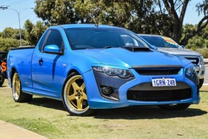 2008 Ford Falcon FG XR8 Ute Super Cab Blue 6 Speed Sports Automatic Utility Wangara Wanneroo Area Preview