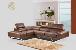 Clearance Sale- Modern Sectional Sofa fm $350. Limited Qty