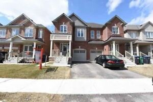 Only 1 Year Old Semi-Detached House On Crescent Street. Must See