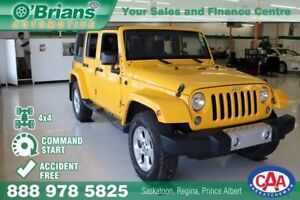 2015 Jeep Wrangler Unlimited Sahara - Accident Free w/Command St