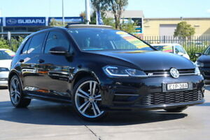 2017 Volkswagen Golf 7.5 MY17 110TSI DSG Highline Black 7 Speed Sports Automatic Dual Clutch Penrith Penrith Area Preview