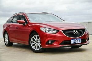 2013 Mazda 6 GJ1031 Touring SKYACTIV-Drive Red 6 Speed Sports Automatic Wagon