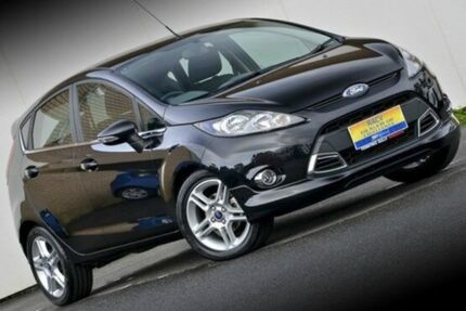 2012 Ford Fiesta WT Zetec PwrShift Black 6 Speed Sports Automatic Dual Clutch Hatchback Ferntree Gully Knox Area Preview
