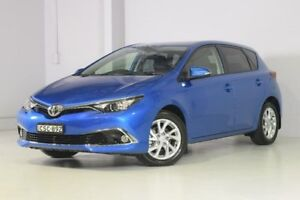 2016 Toyota Corolla ZRE182R Ascent Sport S-CVT Blue 7 Speed Constant Variable Hatchback