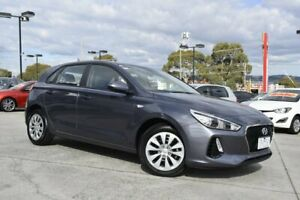 2017 Hyundai i30 PD MY18 Go Grey 6 Speed Sports Automatic Hatchback Ferntree Gully Knox Area Preview