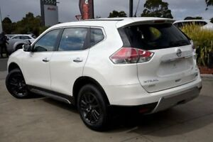 2016 Nissan X-Trail T32 ST X-tronic 4WD N-SPORT Black Ivory Pearl 7 Speed Constant Variable Wagon