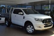 2015 Ford Ranger PX MkII XLT Super Cab White 6 Speed Sports Automatic Utility Belconnen Belconnen Area Preview