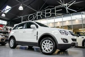 2012 Holden Captiva CG Series II 5 (FWD) MY13 White 6 Speed Automatic Wagon Port Melbourne Port Phillip Preview