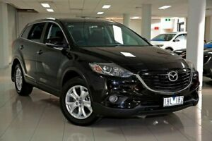 2012 Mazda CX-9 TB10A5 Classic Activematic Sparkling Black 6 Speed Sports Automatic Wagon South Melbourne Port Phillip Preview