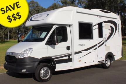 2013 Sunliner Pinto Iveco, BEST SELLING MODEL Low KM's! U3645 Penrith Penrith Area Preview