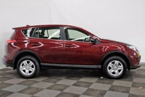 2016 Toyota RAV4 ZSA42R GX 2WD Red 7 Speed Constant Variable Wagon